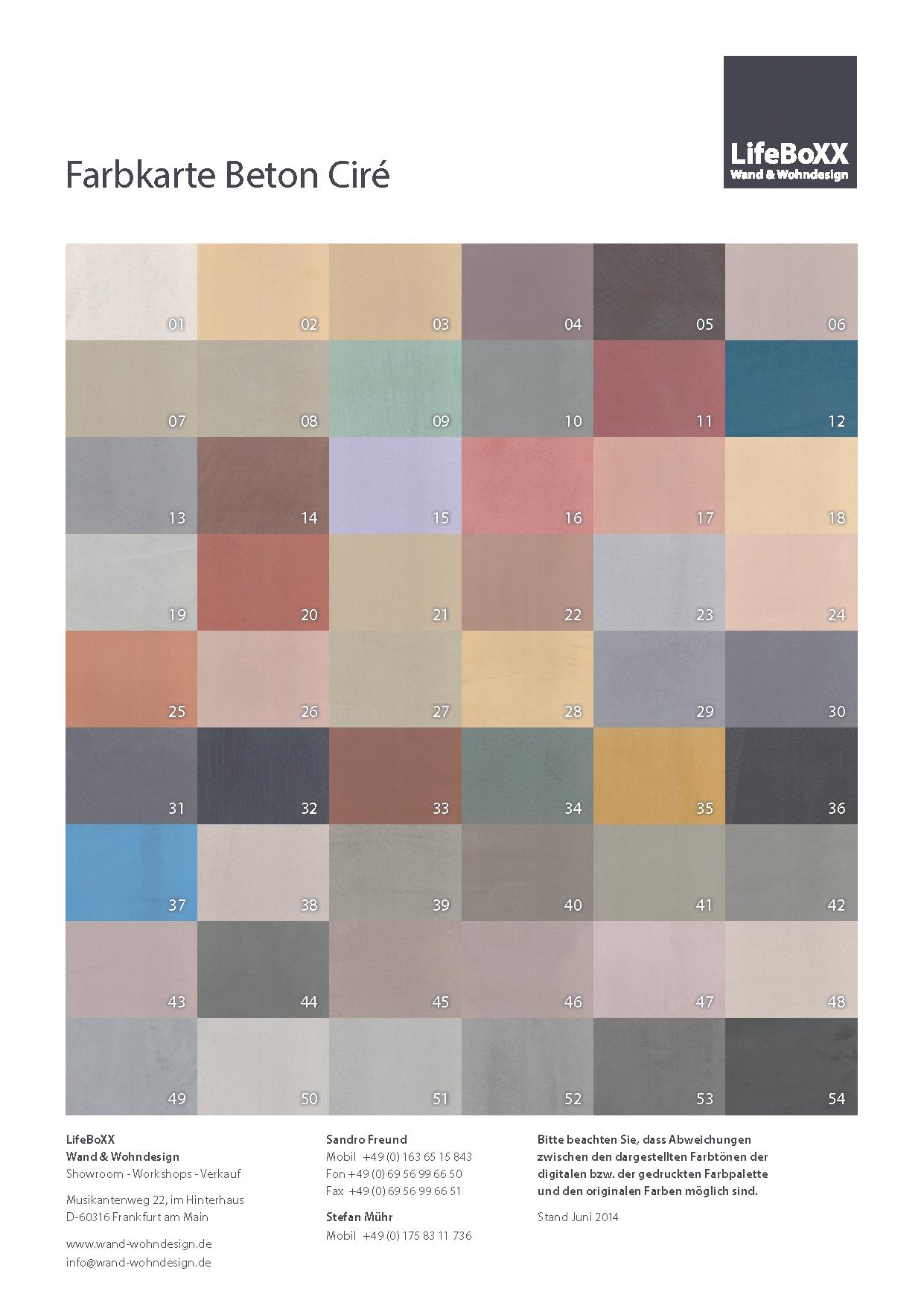 beton-cire-farbe - beton cire | fliesen | ezel-handwerker.de