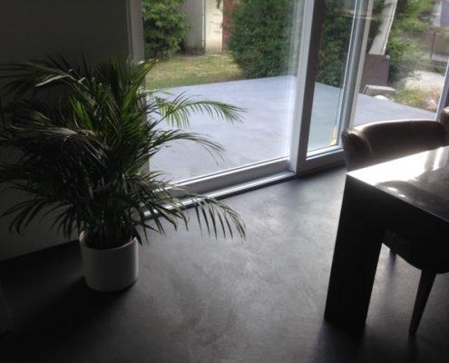 Wasserdichte Betonoptik für Boden und Wand