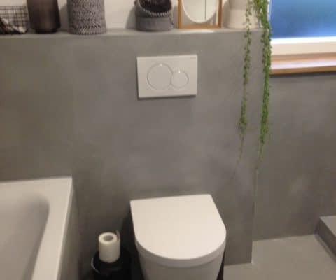 Toilet Beton Cire : Cemcolori beton cire fliesen ezel handwerker